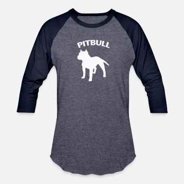 I Love My Pitbull Pitbull T-Shirt - I Love My Pitbull Shirt, Pitbull - Baseball T-Shirt