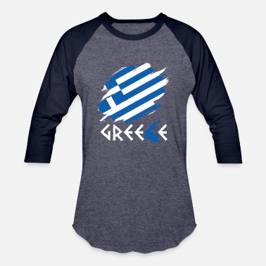Greece Greece - Unisex Baseball T-Shirt