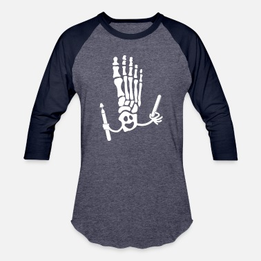 Consultant FUNNY FOOT SKELETON GHOST SELFCARE GIFT WOMEN - Unisex Baseball T-Shirt