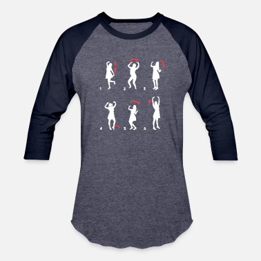 Womens Movement DANCING TRAINING MOVEMENTS FUNNY GIFT WOMEN GIRL - Baseball T-Shirt