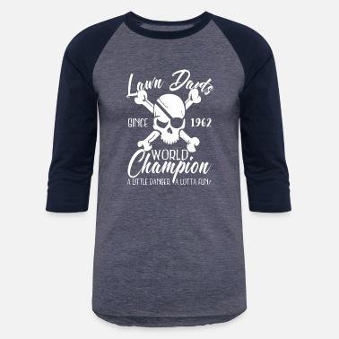 9035031f Backyard Game Lawn Dart Shirt Since 1962 Backyard Game Gift 70s - Unisex  Baseball T-
