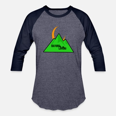 mountain - Unisex Baseball T-Shirt