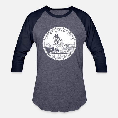 Washington D.c. Washington D.C. (seal of city) - Baseball T-Shirt