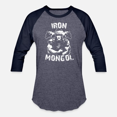 Mongols Mc Iron Mongol Warrior - Unisex Baseball T-Shirt