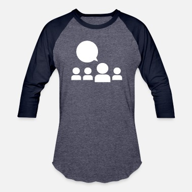 Meeting Meeting - Baseball T-Shirt
