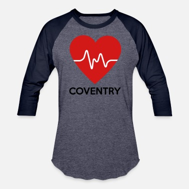 Coventry Heart Coventry - Baseball T-Shirt