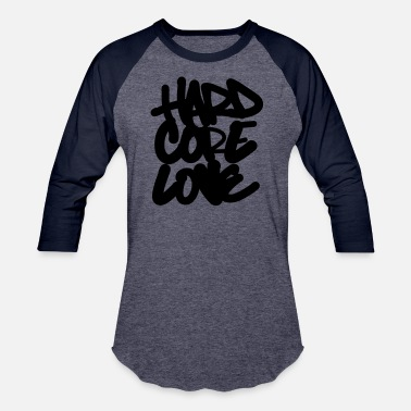 Ink Hard Core Love - Unisex Baseball T-Shirt
