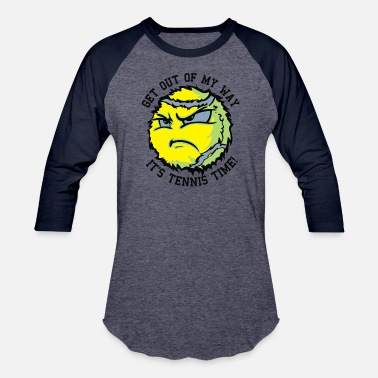 Tennis Ball TENNIS BALLS - Unisex Baseball T-Shirt