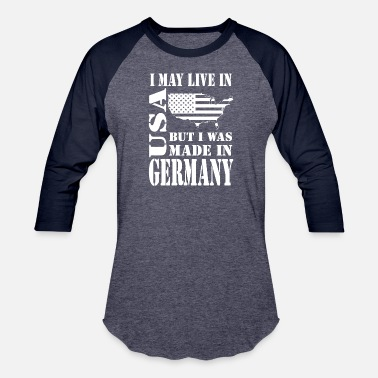 Made In Germany made in germany - Unisex Baseball T-Shirt