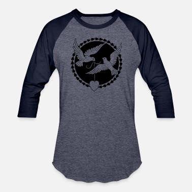 Racing Pigeons pigeon - Baseball T-Shirt