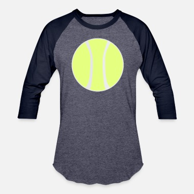Grand Slam Wimbledon tennis ball court sports bat player spieler squash - Baseball T-Shirt
