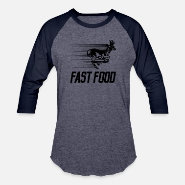 Fasting Fast Food - Baseball T-Shirt