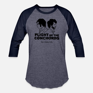 Flight Flight Conchords - Unisex Baseball T-Shirt