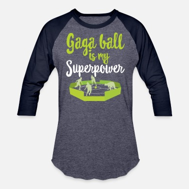 Octagon GaGa Ball Shirt The Hexagon Octagon Pit Superpower - Baseball T-Shirt