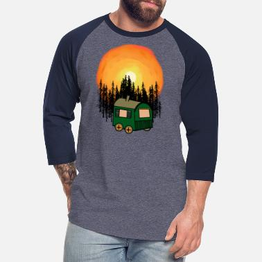 Expedition Sweet Home Natur Wilderness Hippie Lifestyle - Unisex Baseball T-Shirt