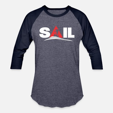 Sailing Geek Sail - Baseball T-Shirt