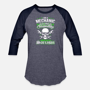 Mechanic I Am A Mechanic T Shirt - Baseball T-Shirt