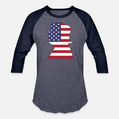 Family Stroke American Trump With Stroke - Baseball T-Shirt