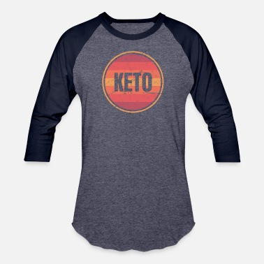 Retro Graphics Retro Vintage Keto Graphic - Baseball T-Shirt