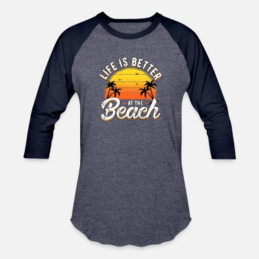 Promenade Life Beach summer - Baseball T-Shirt