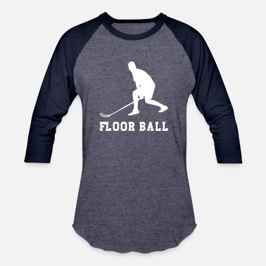 Floor Ball Floor Ball - Baseball T-Shirt
