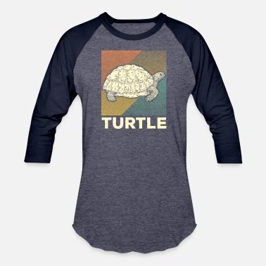 Safari Animal Turtle Reptile Animal Safari Wildlife Gift - Baseball T-Shirt