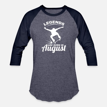 Léo August Skater - Baseball T-Shirt