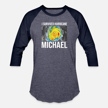 Hurricane I Survived Hurricane Michael TShirt - Baseball T-Shirt