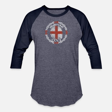 England Is My England Its In My DNA - Baseball T-Shirt