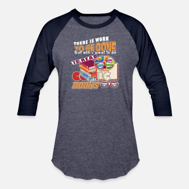 Comic Book Comic Books - Unisex Baseball T-Shirt
