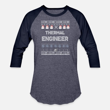 Thermal Engineer THERMAL Engineer Ugly Christmas Sweater - Baseball T-Shirt