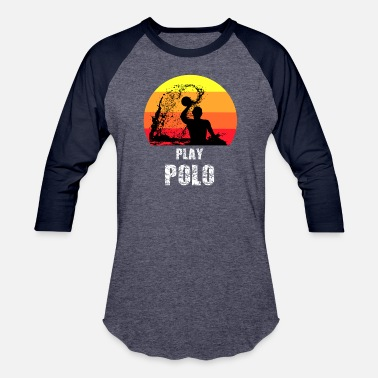 6c4d54f33 Play Polo - Water Polo Silhouette Gift T-Shirt - Unisex Baseball T-Shirt
