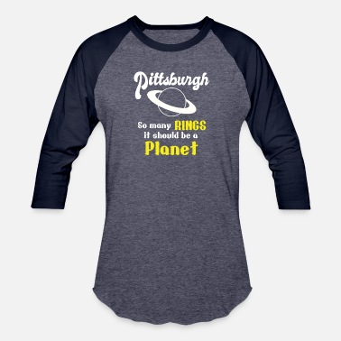 Pittsburgh So Many Rings T-shirt - Unisex Baseball T-Shirt