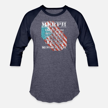 4ec40b7c 2019 Murph Challenge Memorial Day WOD Workout Gym - Unisex Baseball T-Shirt