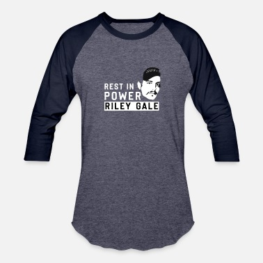Rest Rest in power Riley Gale - Unisex Baseball T-Shirt