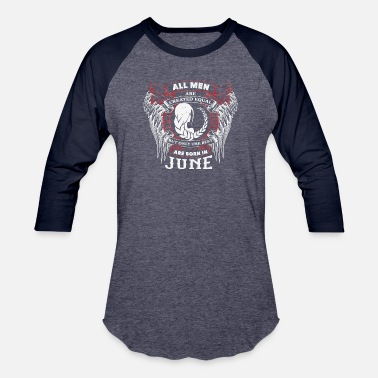 June Birthday Gemini The best are born in June GEMINI - Baseball T-Shirt