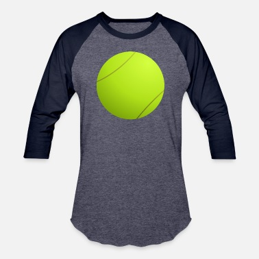 Tennis Ball Tennis ball - Unisex Baseball T-Shirt