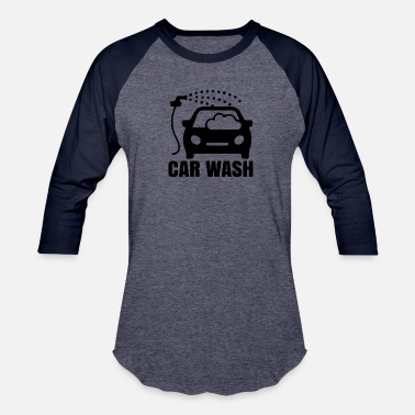 Wash CAR WASH - Unisex Baseball T-Shirt