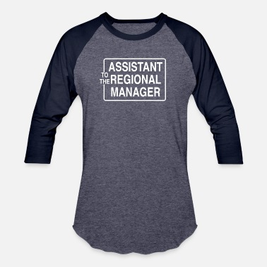 Paper Assistant To The Regional Manager - Unisex Baseball T-Shirt