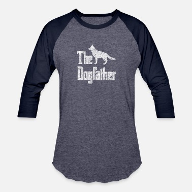 The Dogfather German Shepherd The Dogfather German Shepherd Dog, funny gift idea - Unisex Baseball T-Shirt