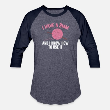 2e4eb40fe Crochet Funny Gift For Crochet Lover. T-Shirt Ideas - Unisex Baseball T-