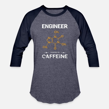 Piston ENGINEER - Baseball T-Shirt