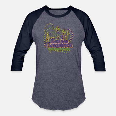 Mardi Gras A Mardi Gras Masquerade Franklin High Homecoming - Baseball T-Shirt