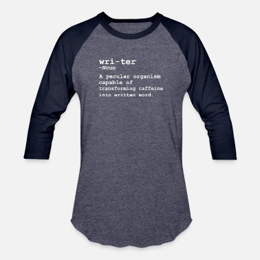 Writer Funny Writer Dictionary T-Shirt for Writers - Baseball T-Shirt