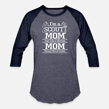 Best Scout Mom I am a scout mom T Shirts - Baseball T-Shirt