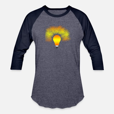 Light Bulb Light Bulb - Baseball T-Shirt