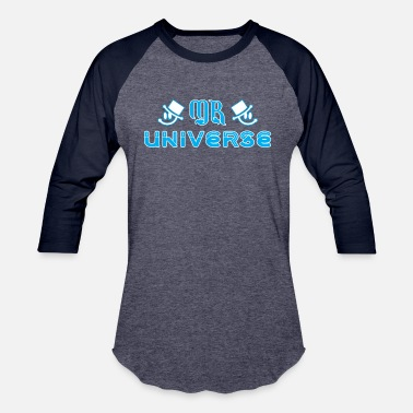 Mr University Mr Universe - Baseball T-Shirt