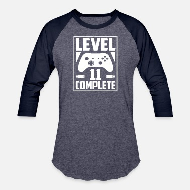 Level 11 Complete Level 11 Complete - Baseball T-Shirt