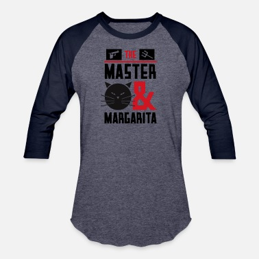 Margarita cool graphic design Master Margarita - Unisex Baseball T-Shirt