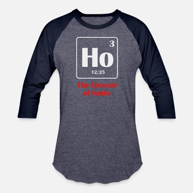the element of santa - Unisex Baseball T-Shirt